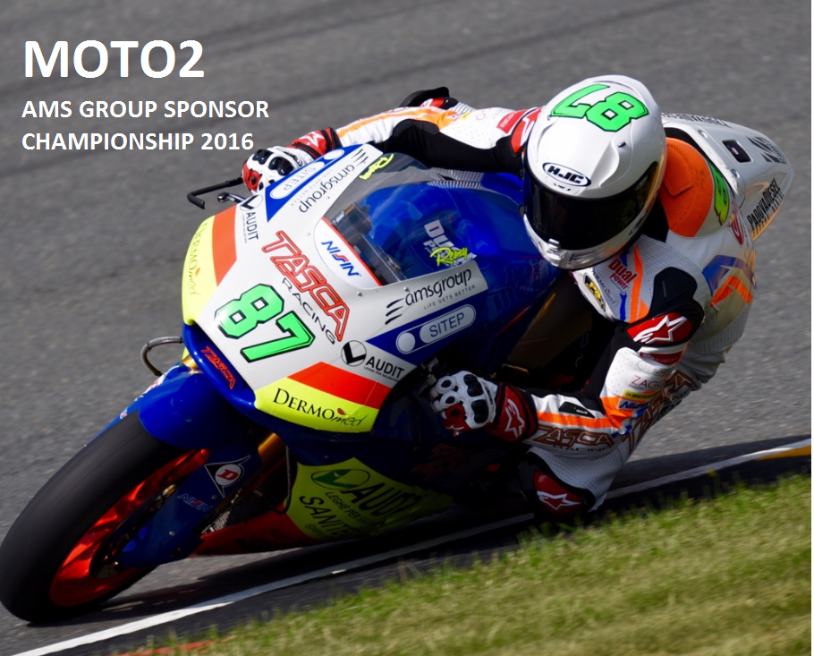 AMS Group Sponsor at Moto2 Champioship 2016