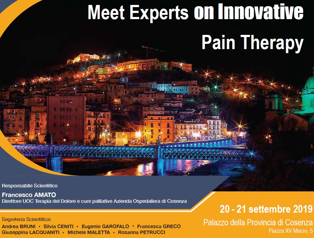 Meet experts on innovative Pain Therapy