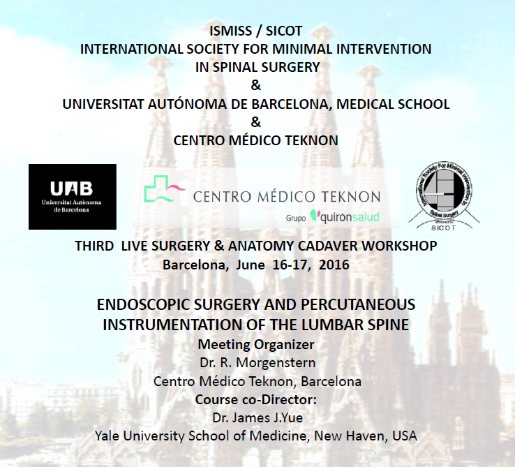 THIRD LIVE SURGERY & ANATOMY CADAVER WORKSHOP