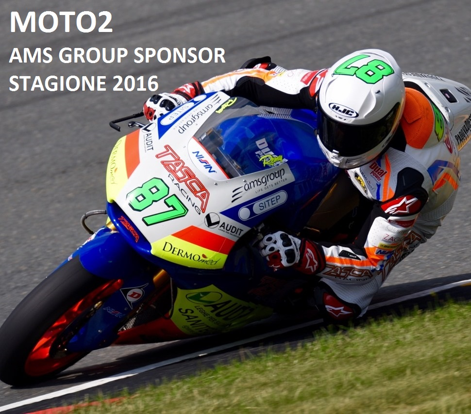 AMS Group Sponsor Moto2 Stagione 2016