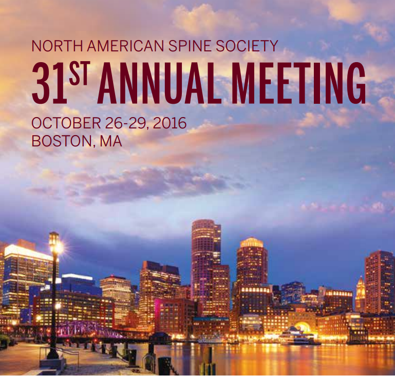 NASS 2016 Annual Meeting