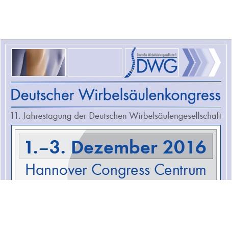 11. Deutscher Wirbelsäulenkongress – Hannover
