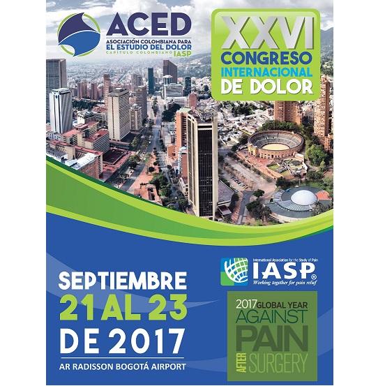 XXVI Congresso Internazionale del Dolore ACED – Bogotá