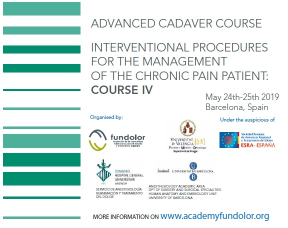 INTERVENTIONAL PROCEDURES FOR THE MANAGEMENT OF THE CHRONIC PAIN PATIENT: COURSE IV